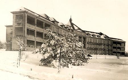 Dawne Sanatorium Magistratu M. St. Warszawy. Przedwojenna pocztówka