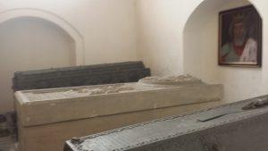 Darłowo współczesne  sarkofag Eryka Pomorskiego, fot. KS, kwiecień 2014