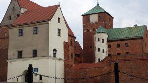 Zamek Książąt Pomorskich w Darłowie, fot. Kornelia Sobczak, kwiecień 2014