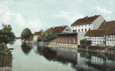 Darłowo, czyli Ruegenwalde, ok, roku 1900. Fot. Wikimedia Commons